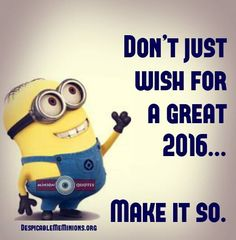 Don't just wish