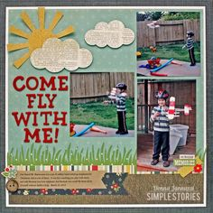 Come Fly With Me Donna Jannuzzi @Simple Stories
