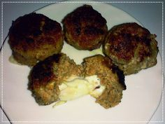 Pampuchy - wszystko o gotowaniu: Mięsne kulki z mozzarella