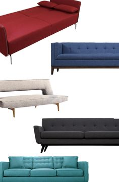 Sofas & Sectionals | Up to 70% Off at dotandbo.com nice mid century offerings