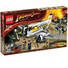 LEGO  LEGO  Indiana  Jones  Indiana  Jones  peril  in  peru  7628  block  toys  parallel  imports