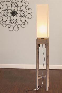Wooden Floor Lamp Project Designer