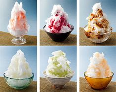 Yummy Shaved Ice Dessert, Kakigori / Tokyo Pic