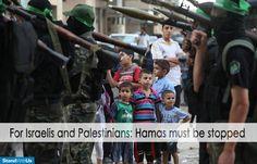What view for children?! Hamas = TERROR #StopHamas #SaveGaza #SaveIsrael