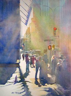 Kris Parins Watercolor