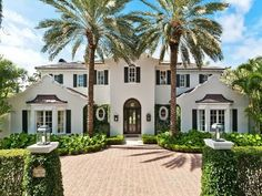 The Glam Pad: A Dutch Colonial in Palm Beach...NBD