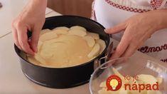 Jablkový skvost s bielou čokoládou – cesto ako pierko: Nejde doň maslo ani olej, 40 minút a rozvoniava celá kuchyňa! Icing, Desserts, Tailgate Desserts, Deserts, Postres, Dessert, Plated Desserts