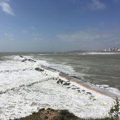 The #power of #nature #atlantic #ocean #portimao #algarve #portugal