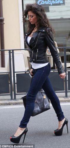 Raffaella Fico heels