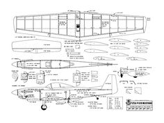 1/2A P-51D Mustang - plan thumbnail