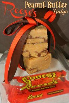 Reese's Peanut Butter Fudge. Sounds a lot easier than the regular Peanut Butter fudge I've made.