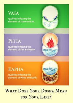 As you continue thinking about your dosha, remember that food and lifestyle routines are considered by Ayurveda to be the most important medicine. Whether you're pitta, kapha, or vata, you have a unique diet and lifestyle routine that fits your mind and body constitution.