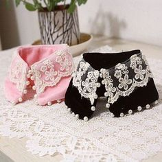 Fancy Ailei Si Small Beaded Neck Collar for Dog Leash Jewelry & Apparel Pet Clothes SIZE L