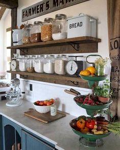 93 Modern Rustic Farmhouse Kitchen Cabinets Ideas