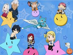 Photo of Fairy Tail chibi for fans of Kawaii Anime.