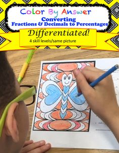 Students require practice of every concept they learn,why not let them ENJOY practicing?! This resource allows students to practice their newlylearned concepts and match the numbers to the colors in order to color a picture. There are 4 levels that offer easy differentiation.