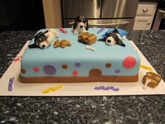 Basset Hound Cake by Bonnie Edwards, via Flickr
