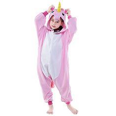61da4756f4   15.29  Niños Pijamas Kigurumi Unicorn Caballo volador Animal Pijamas de  una pieza Lana Polar Rosa   Blanco + azul   Blanco + Rosa Cosplay por Niños  y ...