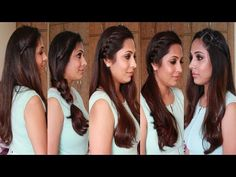 5 Quick & Easy Hairstyles | Heatless Hairstyles - YouTube
