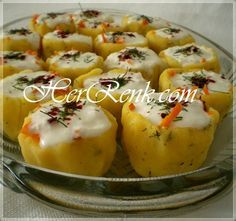 Patates Çanağı-garnitür, patates çanağında havuç salatası, patates yuvası tarifi, yoğurtlu patates yuvası nasıl yapılır, potato salad dish,…