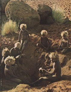Oceania: Children in Central Australia