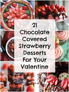 21 Ways To Use Chocolate And Strawberries Outside Of The Bedroom