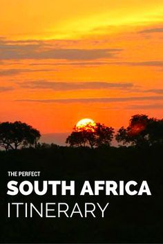 South Africa Planning The Perfect South Africa Itinerary Click the Pin to read the post from www. Source by mirandastover. African Safari, Romantic Travel, Romantic Vacations, Africa Travel, Dream Vacations, Trip Planning, Traveling By Yourself, Travel Inspiration, World