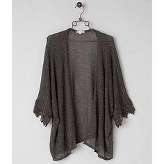 Coco + Jaimeson Open Weave Cardigan Sweater