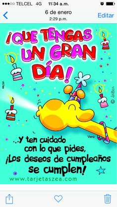 Feliz cumple Teen O, Pajama Party, Good Morning Quotes, Home Interior, Bart Simpson, How To Memorize Things, Happy Birthday, Kids, Facebook