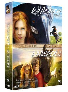 Whisper - Libres comme le vent + Whisper 2 - DVD NEUF
