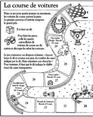 imprimer le cot droit du jeu de l 39 oie course de voitures jeux fle pinterest. Black Bedroom Furniture Sets. Home Design Ideas