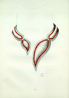 Necklace Cartier Archive Document