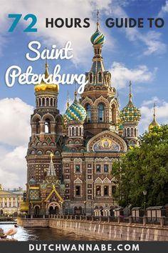 Do you have 3 days to spend in St Petersburg? Discover the best things to do in St. Petersburg Russia: take a canal boat tour, visit the churches and Europe Travel Guide, Europe Destinations, Travel Guides, Cool Places To Visit, Places To Travel, Visit Russia, Baltic Cruise, St Petersburg Russia, Boat Tours