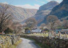 Peter Barker Pastel Painting Tut