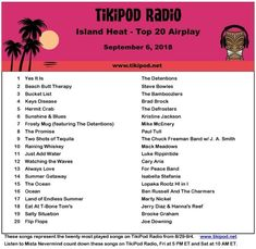"""Raining Whiskey"" ☔️ 🥃 by Mack Meadows #NP #NowPlaying on #TheTikiPod @TikipodSongs @TheTikiPod TikiPod.net 🌴📻 Radio Stations, The Dj, Blues, Island, Whiskey, Whisky, Radio Channels, Islands"