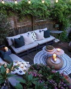The most beautiful small garden design ideas 23