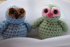 2000 Free Amigurumi Patterns:  -Little Owlie Pattern