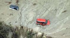 10/15/2015 - Cars trapped in 'life threatening' flooding, mudslides in Southern California