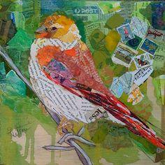 """Yellow Head Bird"" by Elizabeth St. Hilaire Nelson."