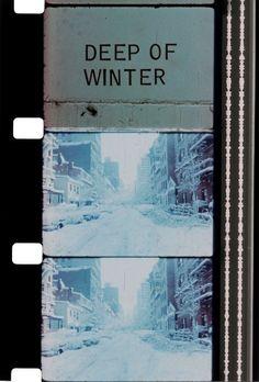"""""""Deep of Winter"""" Jonas Mekas"""