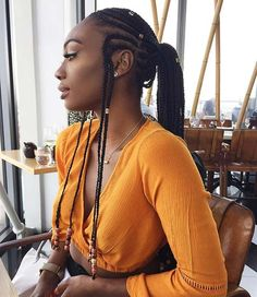 established hairstyles Fulani braids are in vogue. We bring you this aws. African established hairstyles Fulani braids are in vogue. We bring you this aws.African established hairstyles Fulani braids are in vogue. We bring you this aws. French Braid Hairstyles, Natural Afro Hairstyles, Box Braids Hairstyles, African Hairstyles, Natural Hair Styles, Hairstyles 2018, Hair Updo, Black Hairstyles, Hairstyle Ideas