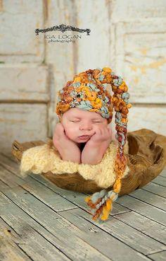 Baby Boy Hat or Baby Girl Hat Crochet by BabiesBugsAndBees on Etsy