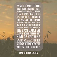 #bookstagram #quotes #bookquotes #anneofgreengables #bookaddict