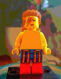 David Bowie Lego minifigure