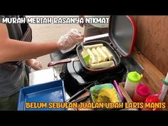 BELAJAR DARI YOUTUBE SUKSES BUKA USAHA LARIS MANIS BELUM SEBULAN | INDONESIA STREET FOOD - YouTube