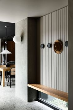 The unusual modernist architecture of this house in Melbourne immediately informs us that this is a unique housing and something special awaits us. Indeed, the choice of shades and textures impresses with courage and originality – what is worth stylish tile in different formats throughout the home. And how do you like a shower with...