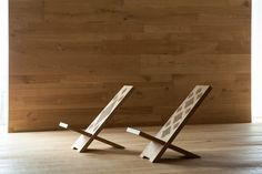 I Massivi | DMF/007 Long chair by Itlas | Stools / Benches