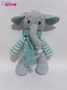 Stuffed Animals, Dinosaur Stuffed Animal, Baby Knitting Patterns, Crochet Patterns, Amigurumi Free, Little Critter, Hobbit, Teddy Bear, Diy
