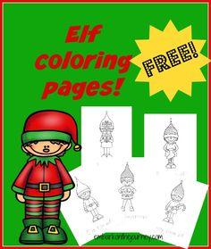 Elf Coloring Pages   embarkonthejourney.com