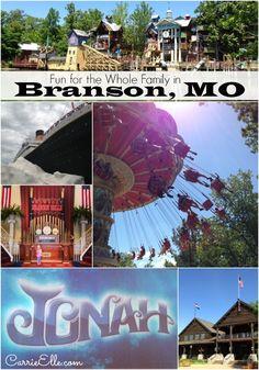 Fun for Everyone in Branson, Missouri #ExploreBranson